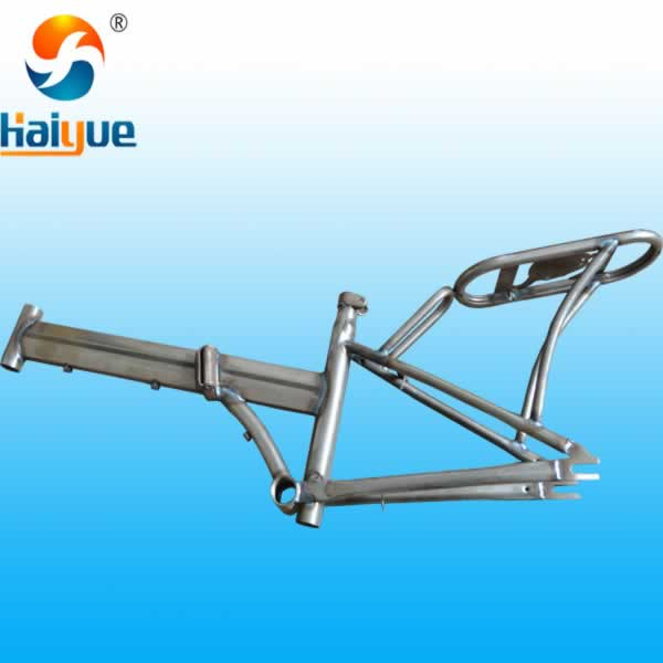 Folding Bike Steel Bicycle Frame Supplier HY-FD-20-330-28.6-01